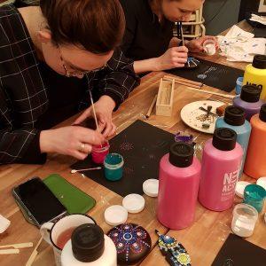 Basis workshop mandala dot painting   Basis workshop