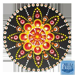 Welkom op deze site | dot painting workshops & gifts | Creatief in 't Veld | dot art | gifts | Kadotjes | dotpainting | in het veld
