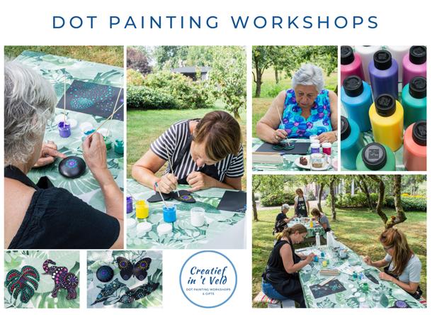 Dot painting workshops | Workshops dot painting
