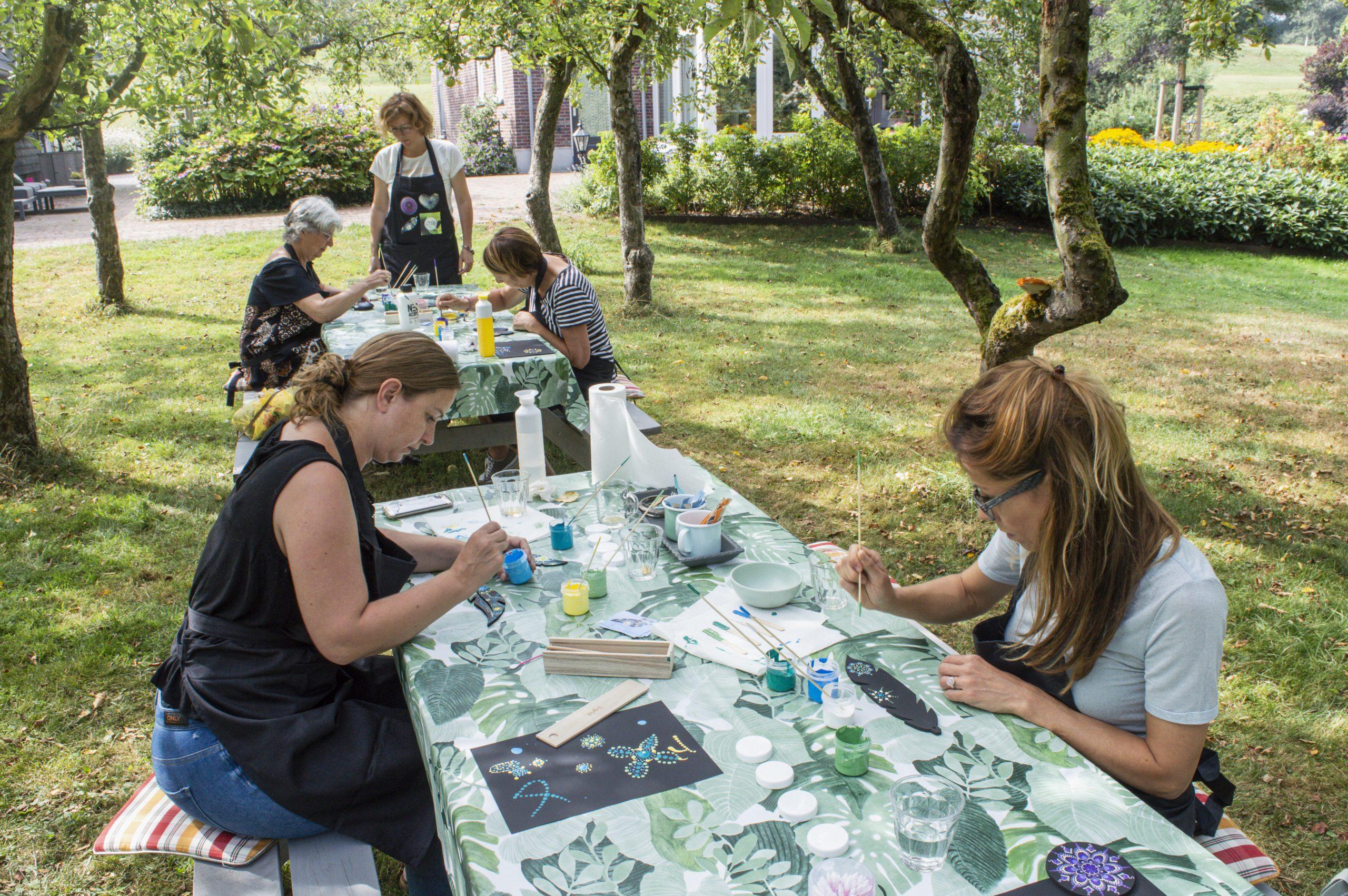 Dot Painting workshop | dot painting | Schoonhoven | Krimpenerwaard | Zuid-Holland | Utrecht | Gouda | Rotterdam | Nieuwegein | IJsselstein | Montfoort | Gorinchem | Dordrecht